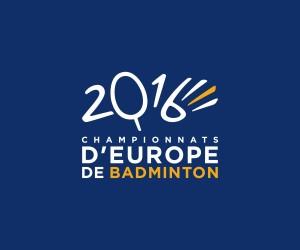 Leroy Tremblot signe l'identité visuelle des Championnats d'Europe 2016 de Badminton