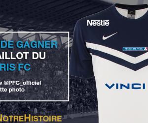 CONCOURS – Nous vous offrons 1 maillot du Paris FC