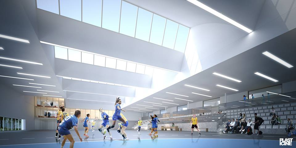 La maison du handball cr teil d 39 ici 2018 pour un co t for Domon siege social