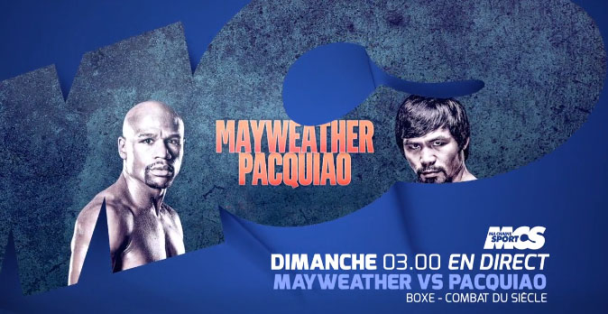 mayweather pacquiao ma chaine sport boxe diffusion