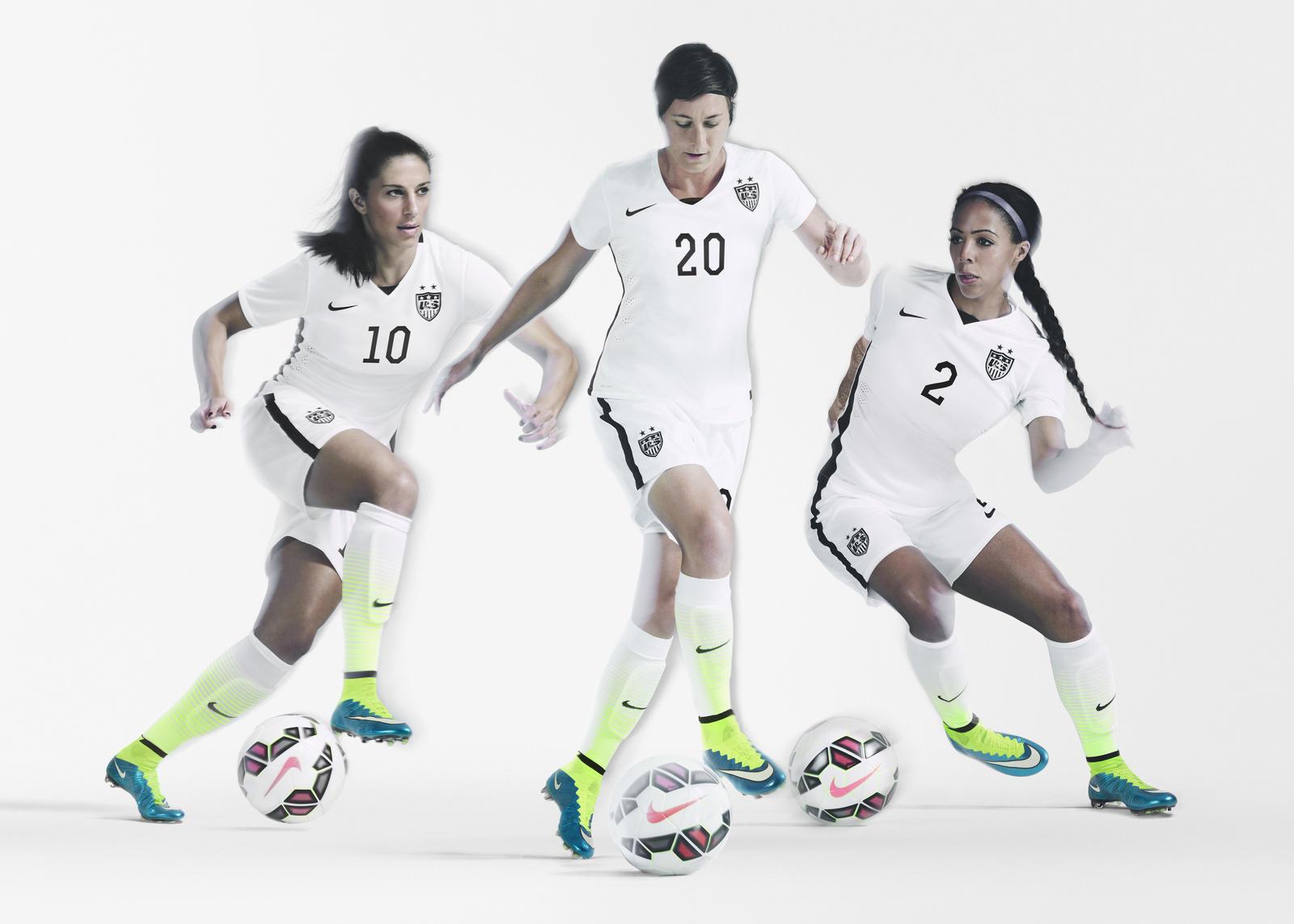 nike football home kit USA women world cup 2015