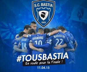 CONCOURS – Nous vous offrons 4 maillots Kappa du SC Bastia à l'occasion de la Finale de la Coupe de la Ligue 2015