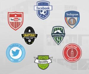 "Social Network Football League – Twitter FC, Snapchat Futbol Club, Facebook, YouTube FC… Les leaders du ""Social Media"" version clubs de football"
