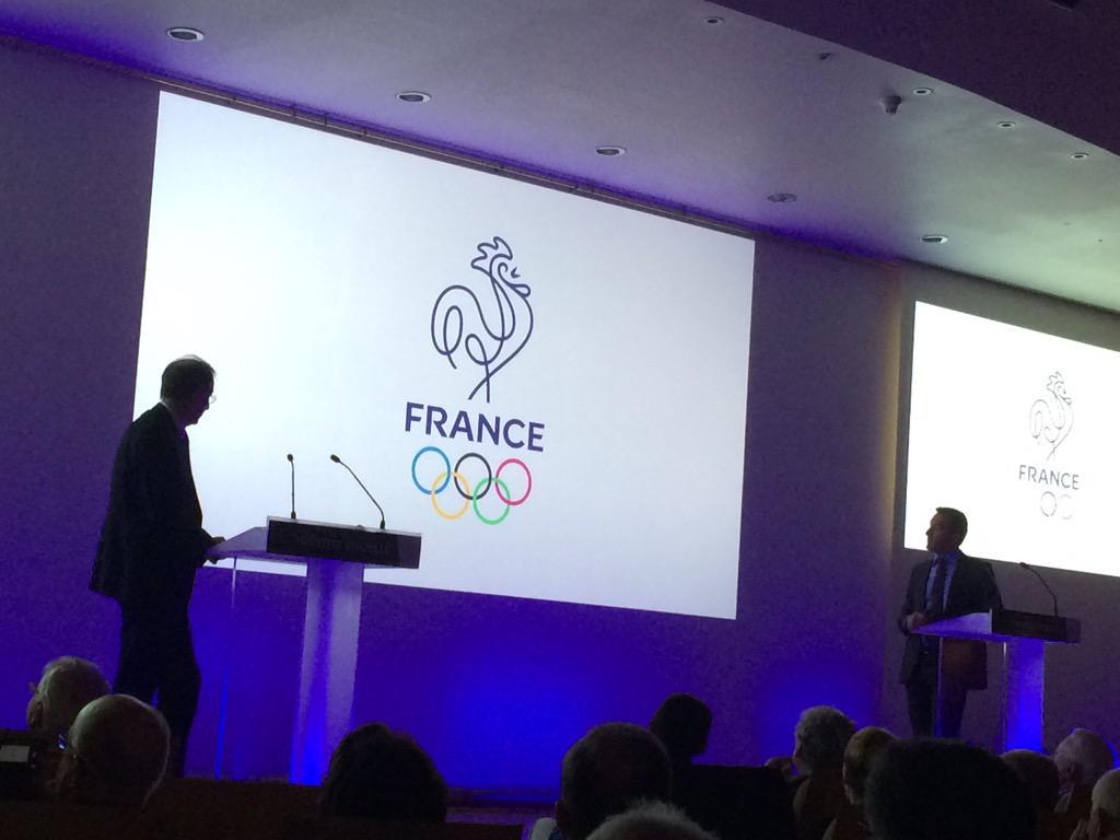 team france olympique logo 2015 rio 2016