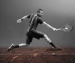 Roland-Garros 2015 – Les tenues adidas Y3 de Jo-Wilfried Tsonga et Ana Ivanovic