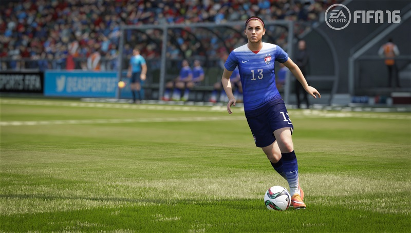 FIFA 16 Alex morgan ea sports