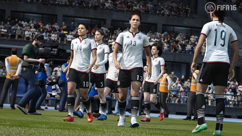 FIFA 16 Women Germany ea sports