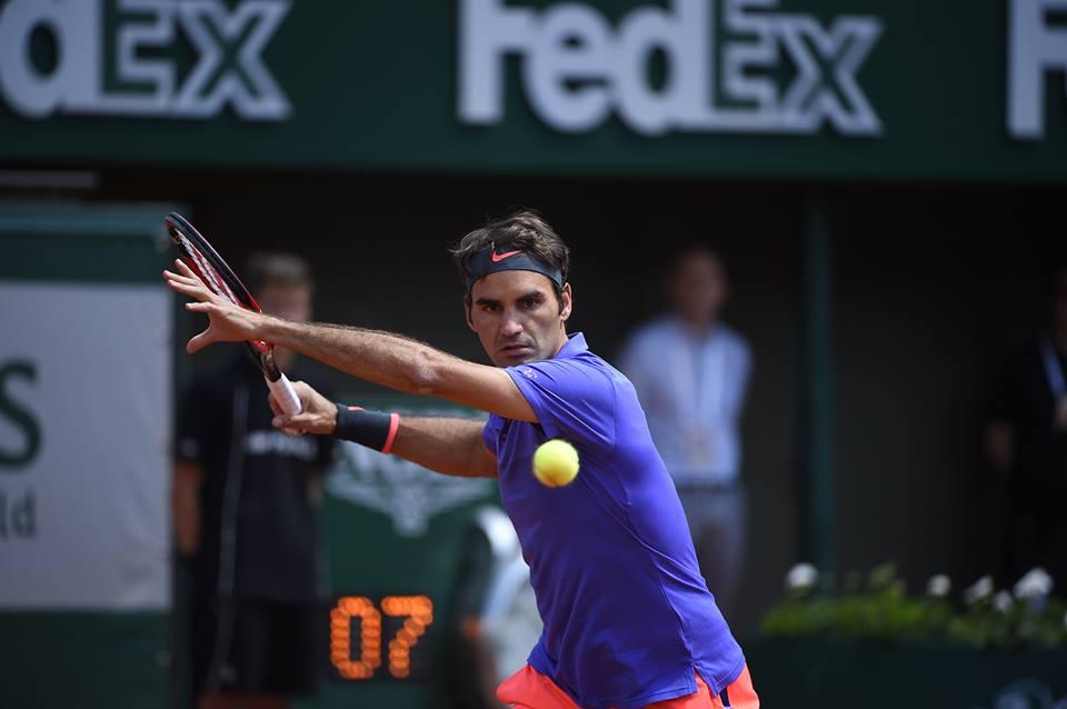Federer Nike roland garros 2015 polo