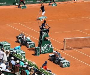 Le dispositif « Extraordinaire » déployé par Perrier pour Roland-Garros 2015
