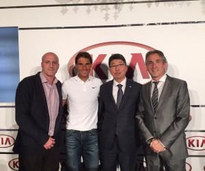 Kia prolonge son partenariat avec Rafael Nadal jusqu'en 2020
