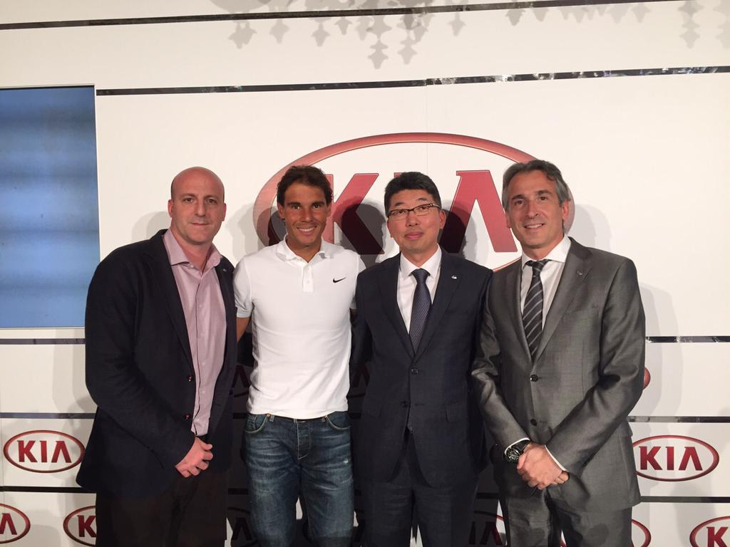 Rafael Nadal Kia motors sponsoring 2020