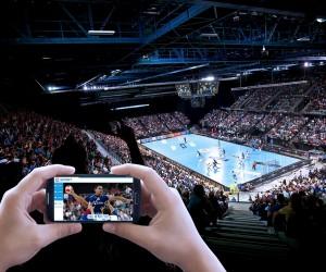Expérience second écran et TIFO ce soir pour les spectateurs du match MAHB – PSG Handball