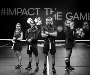 adidas inaugure un court de tennis noir en plein cœur de Paris