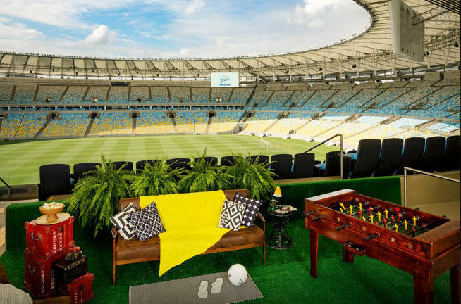 airbnb night maracana stadium brazil