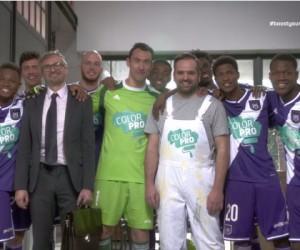 BNP Paribas Fortis réitère l'opération «Boostez votre business» permettant à une PME de devenir sponsor maillot du RSC Anderlecht le temps d'une rencontre