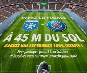 Fan Experience – PMU vous fait vivre la Finale de la Coupe de France Auxerre – PSG à 45 mètres de hauteur avec «La Nacelle»