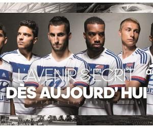Nouveaux Maillots Home et Away 2015/2016 Olympique Lyonnais (adidas)
