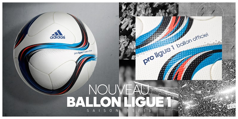 nouveau ballon ligue 1 football adidas saison 2015 2016