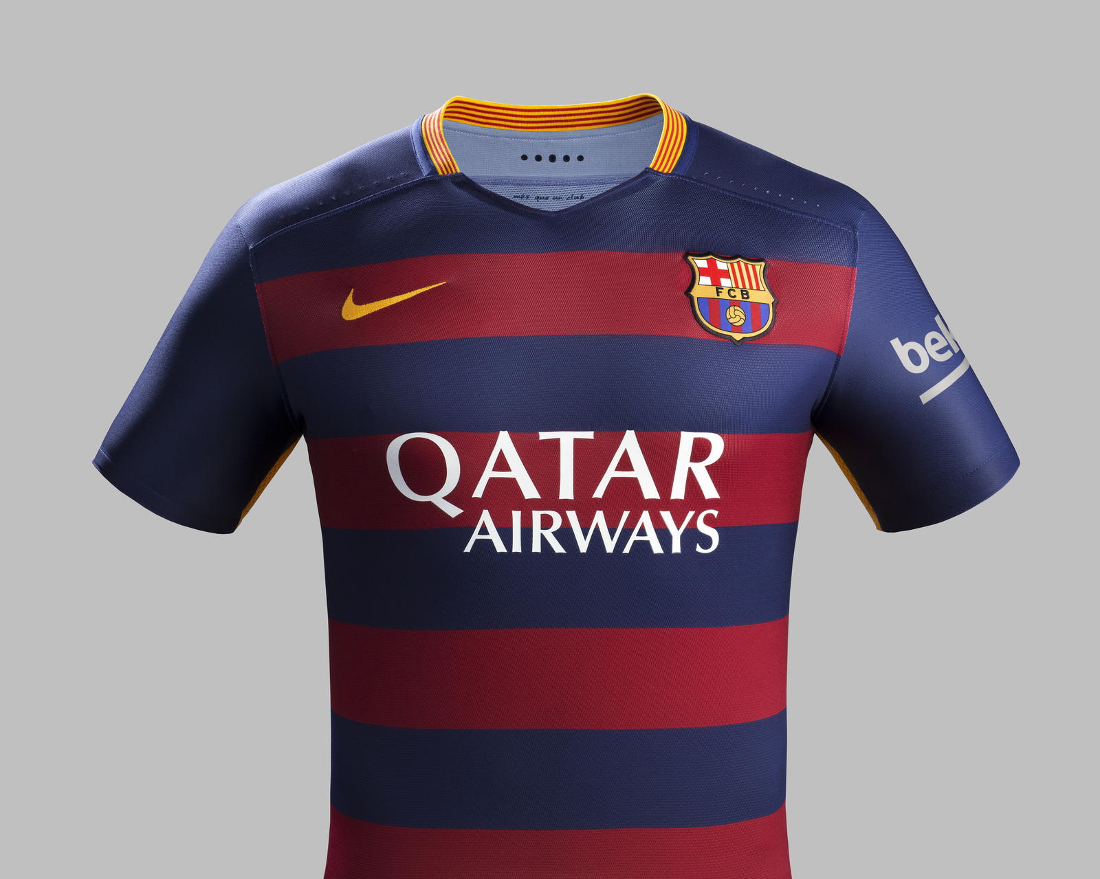 nouveaux maillots 2015 2016 fc barcelone nike. Black Bedroom Furniture Sets. Home Design Ideas