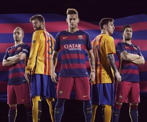 Nouveaux Maillots 2015/2016 FC Barcelone (Nike)