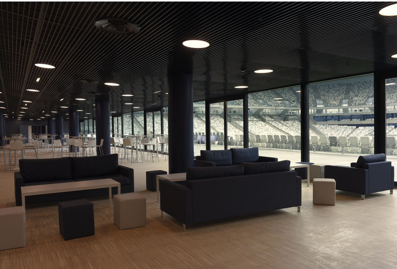 Le nouveau stade de bordeaux un outil business au service for Salon de bordeaux