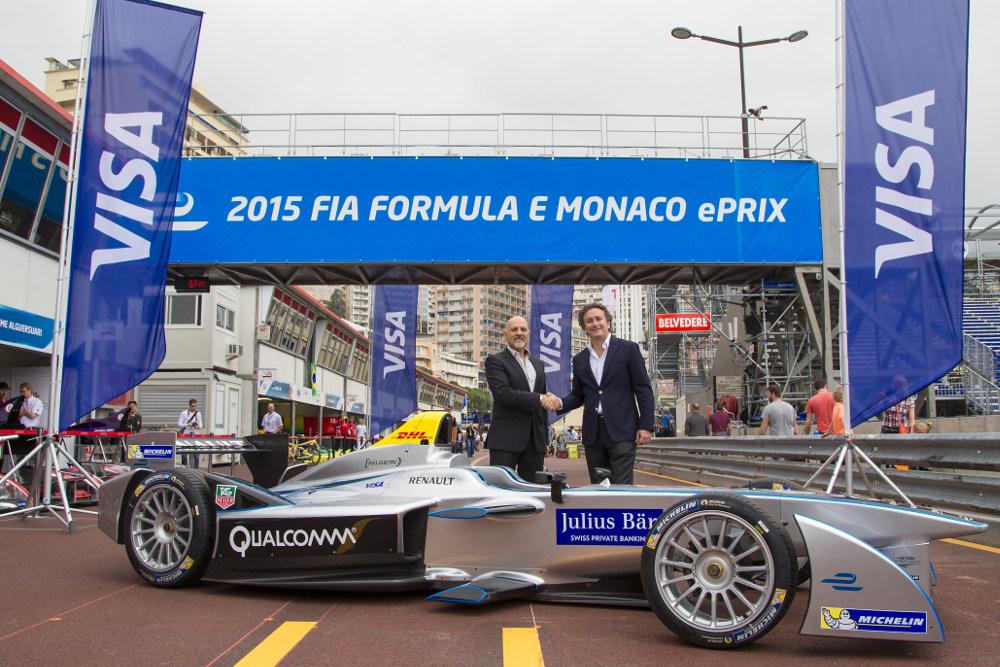 visa europe ePrix formula E
