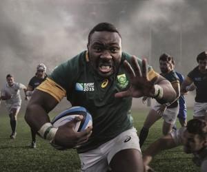 Rugby – Asics dévoile le nouveau maillot des Springboks pour la Coupe du Monde 2015