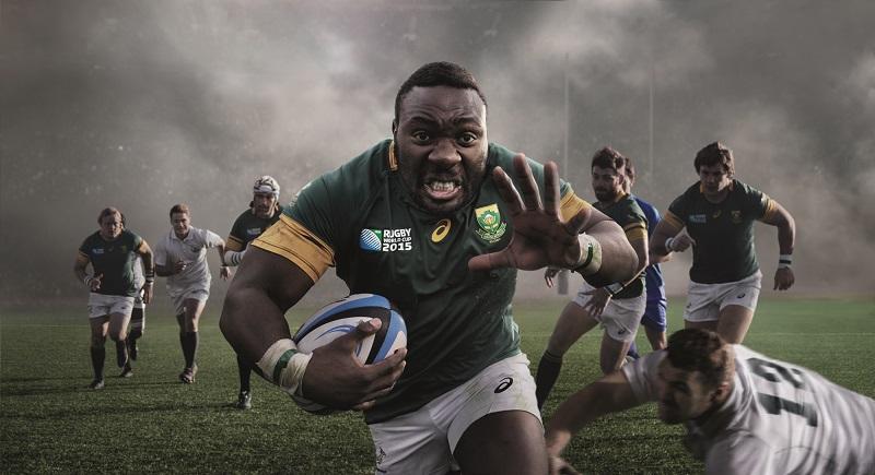 Rugby asics d voile le nouveau maillot des springboks - Qui a gagner la coupe du monde de rugby 2015 ...