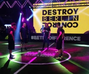 #BeTheDifference – adidas frappe un grand coup à Berlin pour le lancement de ses nouvelles chaussures de football