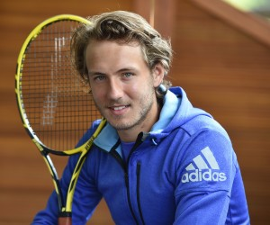 Lucas Pouille nouvel ambassadeur adidas Tennis