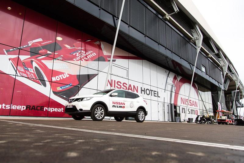Nissan hôtel stade MMArena 24 heures du mans 2015