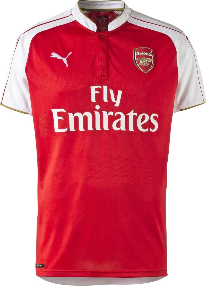 Nouveau Maillot Domicile 2015 - 2016 Arsenal FC (Puma)