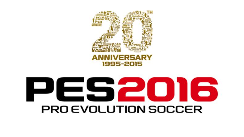 PES 2016 20 ans anniversaire