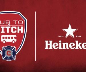 MLS – Les Chicago Fire amènent les Fans du Pub au stade en bus avec le programme «Pub to Pitch»