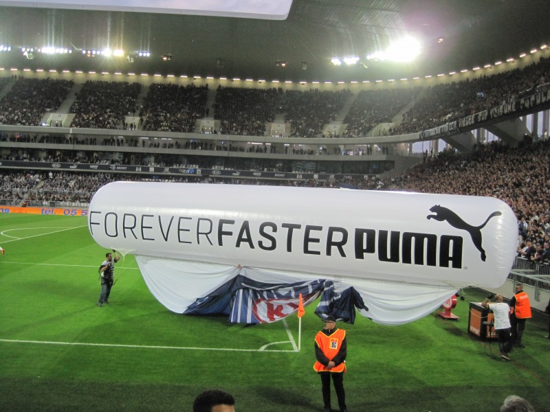 Puma Girondins de Bordeaux nouveau stade