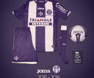 Nouveaux Maillots 2015/2016 Toulouse Football Club (Joma)