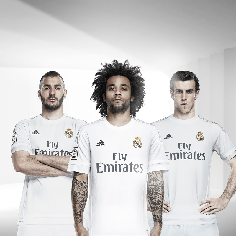 Nouveaux Maillots Home et Away du Real Madrid 20152016 (adidas)