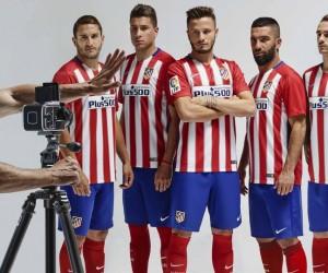 Plus500 nouveau sponsor maillot face de l'Atletico Madrid
