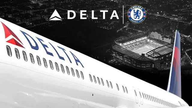 delta Air lines Chelsea FC