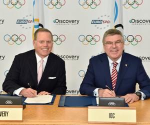 Discovery (Eurosport) s'offre les droits de diffusion des Jeux Olympiques de 2018 à 2024 en Europe pour 1,3 milliard d'euros