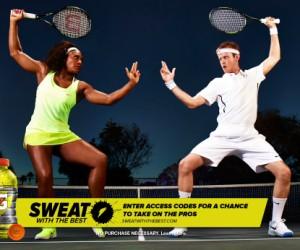 Gatorade offre une expérience «money can't buy» pleine de sueurs aux Fans avec «Sweat With The Best»