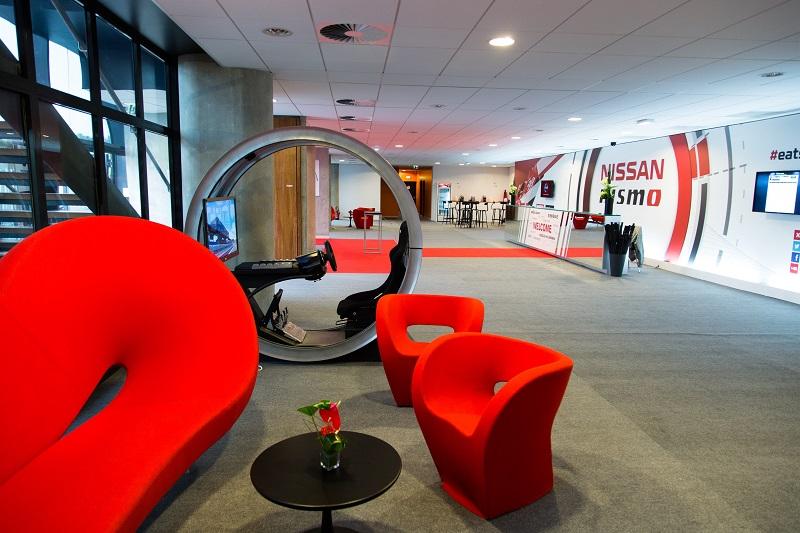 hall accueil hôtel Nissan stade MMArena 24 heures du mans