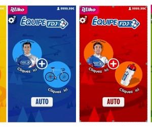 La FDJ lance un nouveau jeu à gratter digital et met en scène 4 coureurs du Tour de France 2015