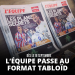 l'equipe tabloid taille format