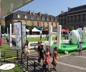 Le Village Rugby Tour de la LNR débarque à Bordeaux pour les 1/2 Finales du Top 14