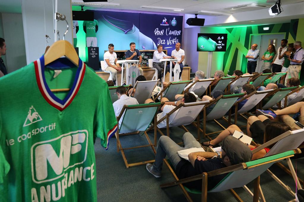 Exclu : La prochaine tunique des Verts évoluera peu