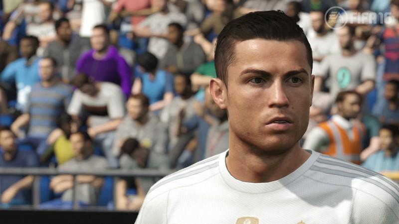 FIFA 16 cristiano ronaldo visage real madrid