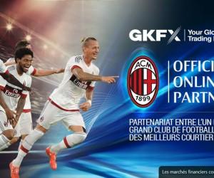 Le site de trading en ligne GKFX nouveau partenaire du Milan AC