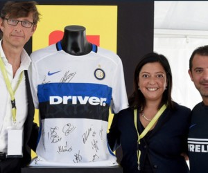 Un nouveau sponsor sur le maillot extérieur 15/16 de l'Inter Milan