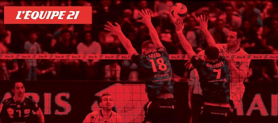 LNV l'équipe 21 ligue nationale de volley ball